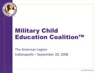 Military Child Education Coalition�