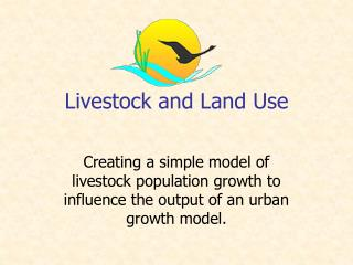 Livestock and Land Use