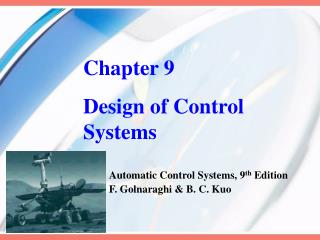 Chapter 9 Design of Control Systems
