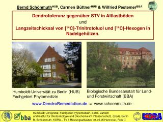 Bernd Schönmuth HUB , Carmen Büttner HUB  & Wilfried Pestemer BBA