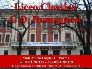 Liceo Classico G.D. Romagnosi