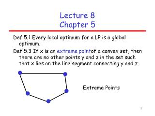 Lecture 8 Chapter 5