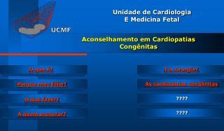 Aconselhamento em Cardiopatias Congênitas