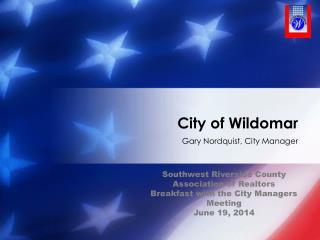 City of Wildomar