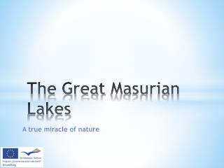 The Great  Masurian  Lakes
