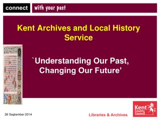 Kent Archives and Local History Service