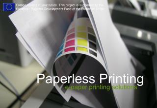 Paperless Printing