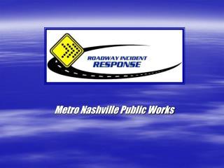 Metro Nashville Public Works
