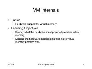 VM Internals