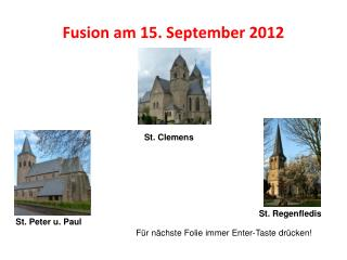 Fusion am 15. September 2012