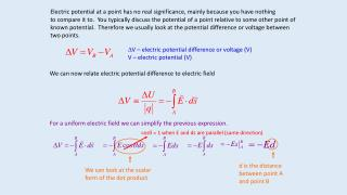 Electric potential at a point has no real significance, mainly because you have nothing