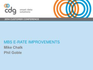 MBS E-Rate improvements