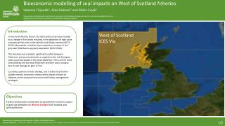 Bioeconomic  modelling of seal impacts on West of Scotland  fisheries