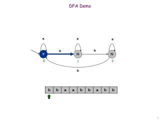 DFA Demo
