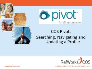COS Pivot:  Searching, Navigating and Updating a Profile