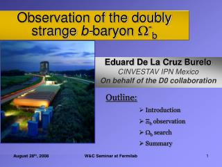 Observation of the doubly strange b- baryon  - b