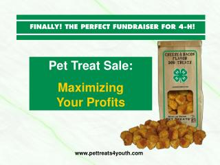 Pet Treat Sale: Maximizing         Your Profits