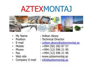 AZTEX MONTAJ