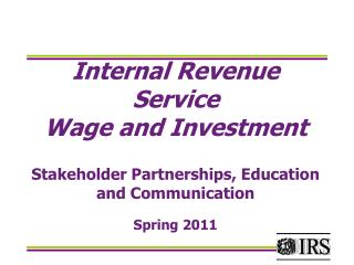 Income Tax Workshop for �Nonresident Aliens�