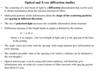 Powder X-ray diffraction   the uses