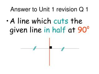 Answer to Unit 1 revision Q 1