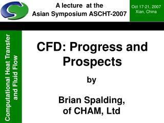 CFD: Progress and Prospects