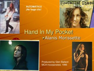 Hand In My Pocket