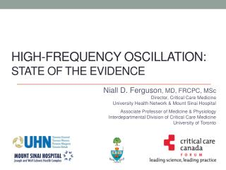 High-Frequency Oscillation: State of The Evidence