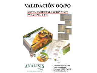 Validation in a box Generic procedure for all makes of equipment
