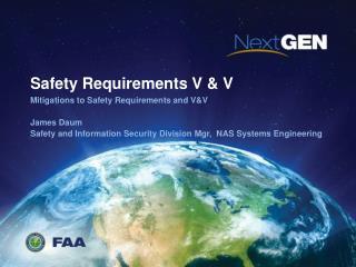 Safety Requirements V & V