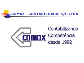 COMAX - CONTABILIDADE S