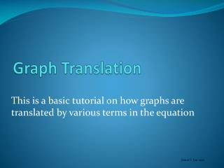 Graph Translation