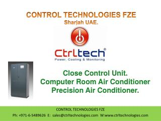 Close Control unit. CCU. CRAC. Precision Air Conditioner.