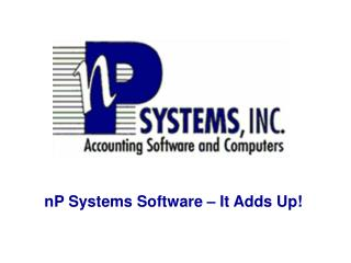nP Systems Software – It Adds Up!