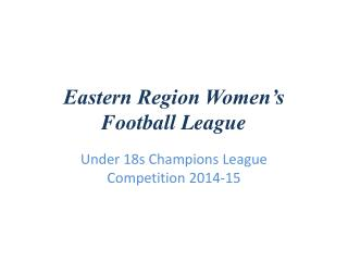 Eastern Region Women's Football League
