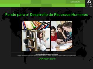 Fondo para el Desarrollo de Recursos Humanos