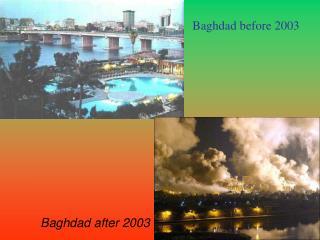 Baghdad before 2003