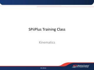 SPiiPlus Training Class