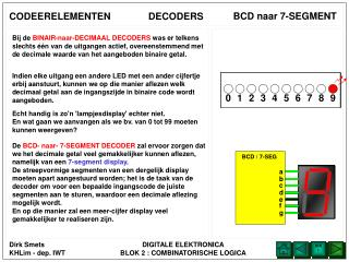 BCD naar 7-SEGMENT