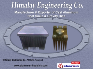 Bonded Type Heat Sink,  Extruded (Section) Aluminium Heat Si