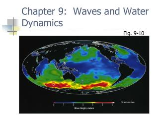 Chapter 9:  Waves and Water Dynamics