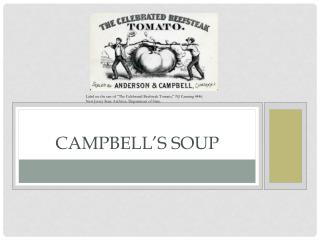 Campbell�s Soup