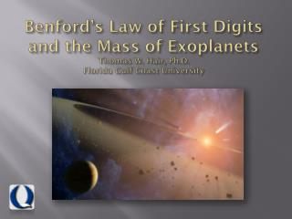 What is Benford's Law