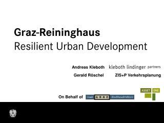Graz-Reininghaus Resilient Urban Development