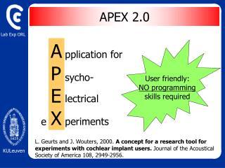 APEX 2.0
