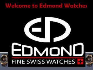 Edmond Watches - Luxury Men Watch Supplier