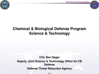 Chemical  Biological Defense Program Science  Technology