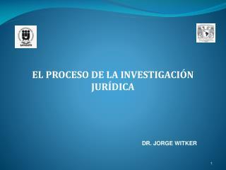 EL PROCESO DE LA INVESTIGACIÓN JURÍDICA
