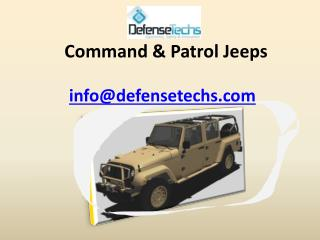 Command & Patrol Jeeps