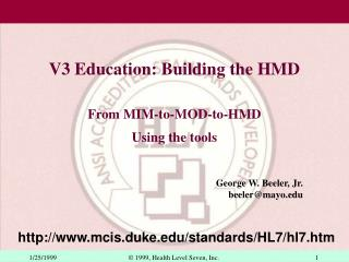 V3 Education: Building the HMD